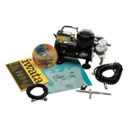 AIRBRUSH KIT ECLIPSE CS W/COMP
