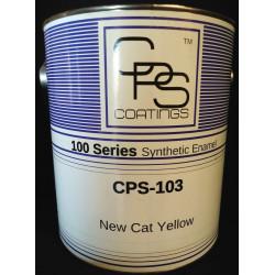 new cat yellow